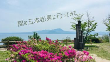 【美保関の五本松公園】関の五本松を見に行ってきました。子どもとのハイキングにおすすめ。